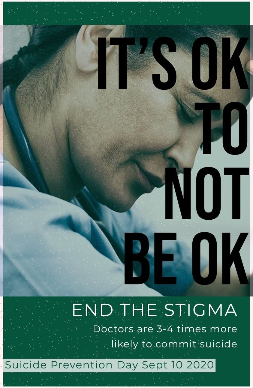 DAUK on World Suicide Prevention Day: It's Ok Not To Be OK