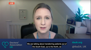 DAUK on Good Morning Britain: Dr Samantha Batt-Rawden warns of hospitals struggling to cope with surge in Covid-19 cases