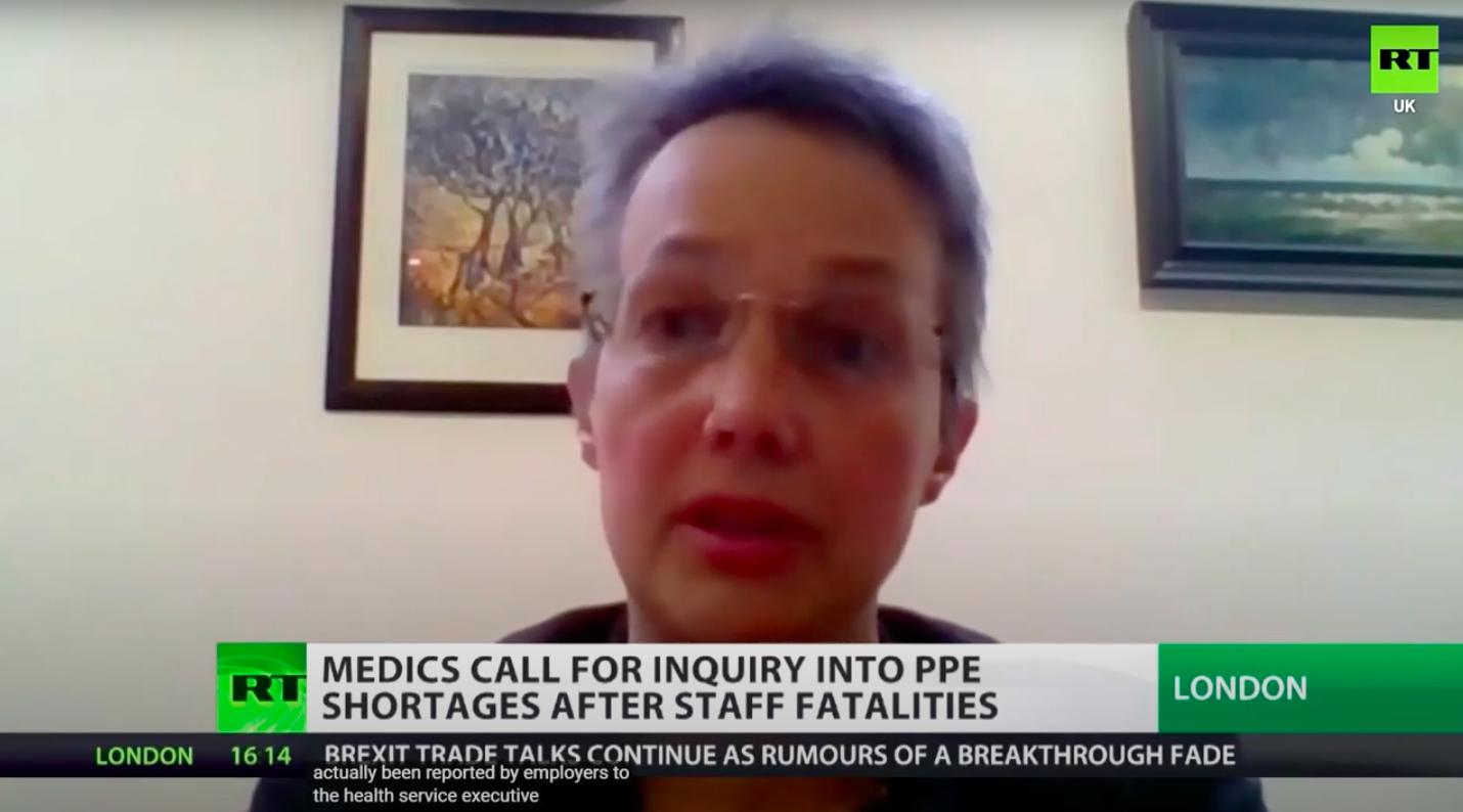 DAUK on RTUK: Dr Jenny Vaughan calls for PPE inquiry