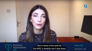 DAUK on Al Jazeera: Dr Natalie Ashburner speaks about the mental health impact of the Covid-19 crisis on NHS staff