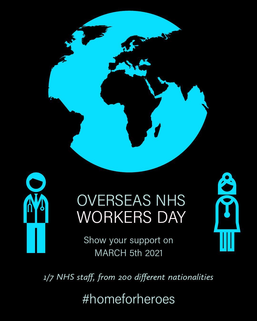 DAUK's Overseas NHS Workers Day recognised in UK Parliament