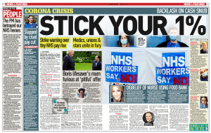 DAUK discuss the 1% pay rise for NHS staff in The Mirror