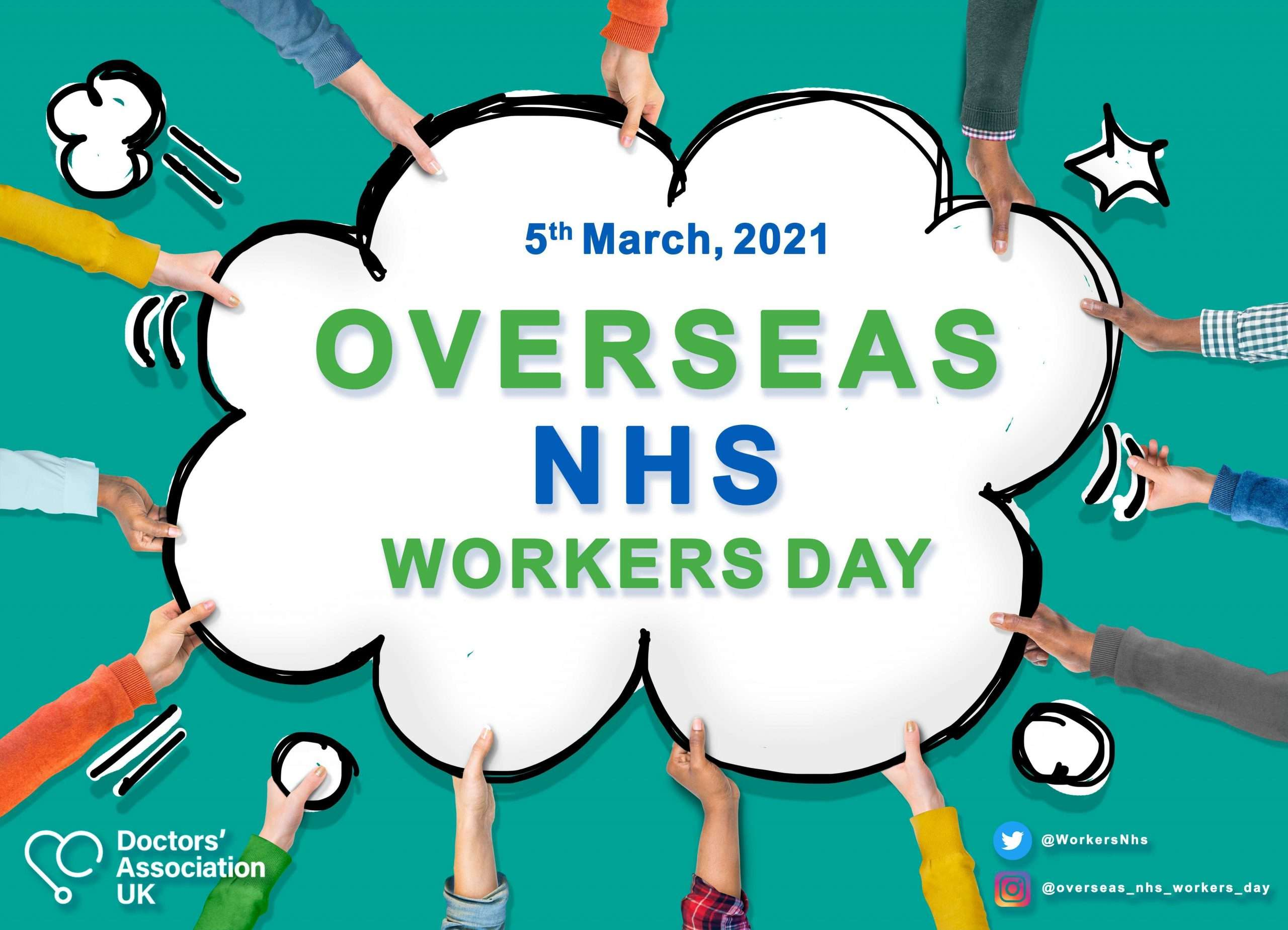 The International Health service support DAUK's Overseas NHS Workers Day